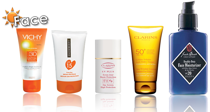 Some of the best facial sunscreens